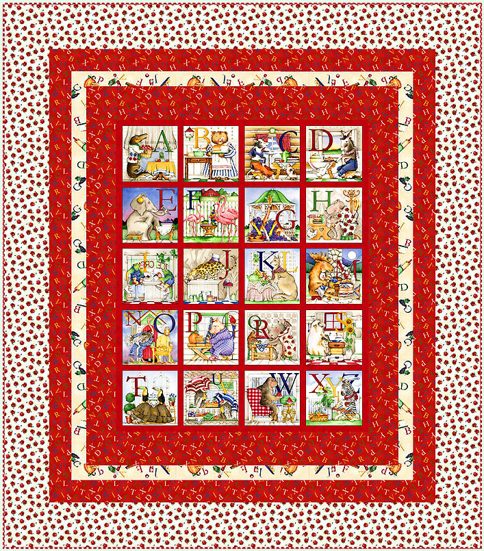 Free Pattern Hungry Animal Alphabet Equilter Blog