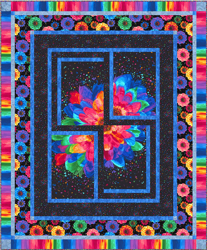 Free Pattern Radiance Confetti Equilter Blogequilter Blog