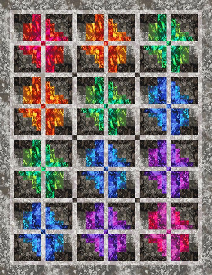 Free Quilt Pattern - Color Flow - eQuilter BlogeQuilter Blog
