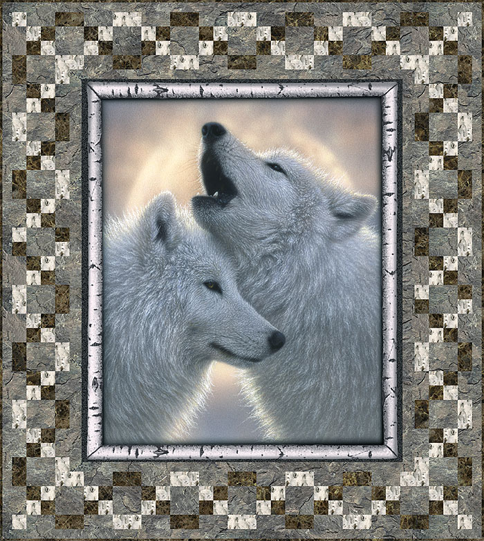 Free Pattern Call Of The Wolves Equilter Blogequilter Blog