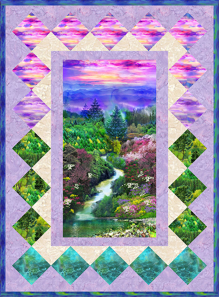 Free Pattern Mountain View Equilter Blogequilter Blog