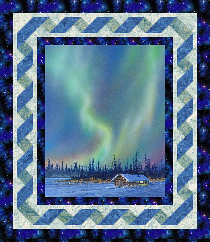 Free Pattern Alaska S Northern Lights Equilter