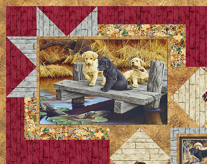 Free Pattern Labrador Able Puppies Equilter Blog