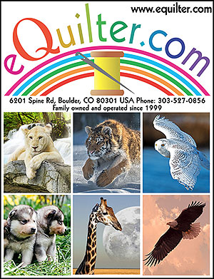 eQuilter Animal Wonders, April 2019