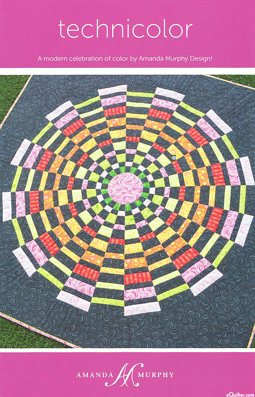 Technicolor - Quilt Pattern by Amanda Murphy