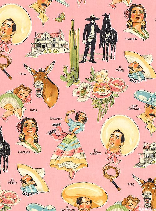 Folklorico - Hacienda - Candy Pink