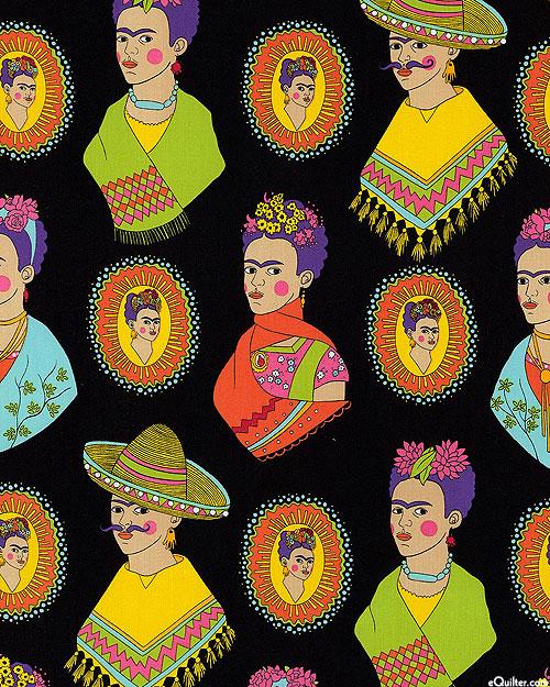 Frida Fantastico - Woman of Courage - Black
