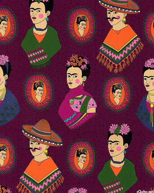 Frida Fantastico - Woman of Courage - Deep Plum