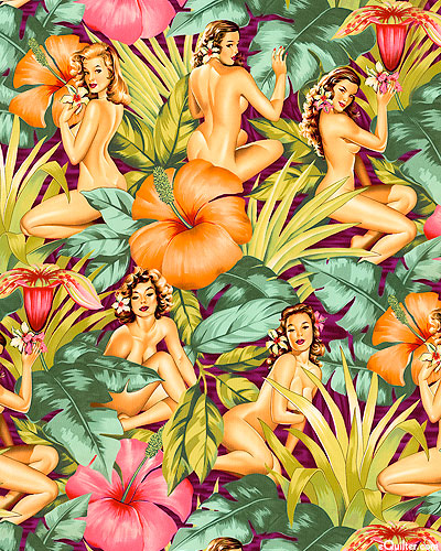 Mirage - Tropical Pin-up Girls - Violet