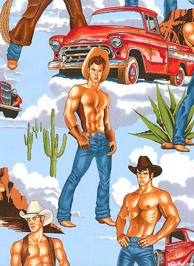 Cowboy Hunks - Bright