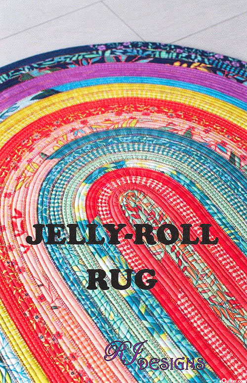 Jelly-Roll Rug - Pattern by Roma Lambson