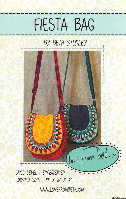 Fiesta Bag - Pattern by Beth Studley