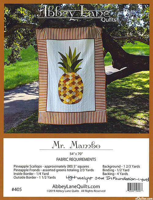 Mr. Mambo - Quilt Pattern by Abbey Lane Quilts