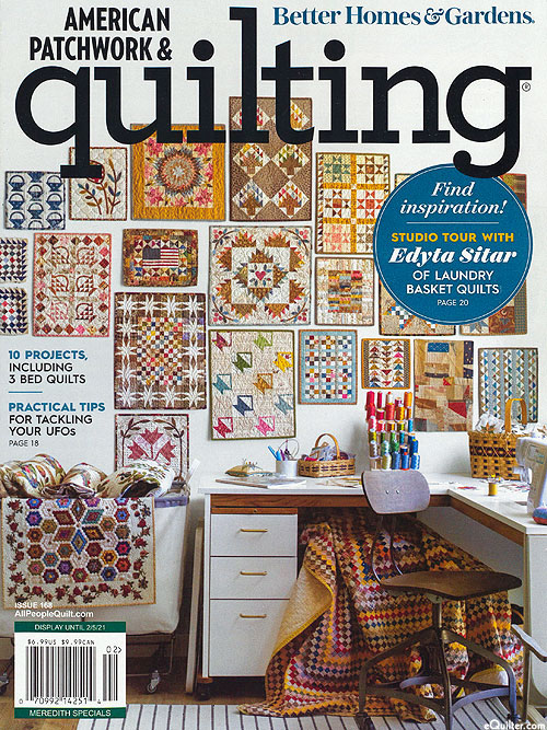 American Patchwork & Quilting Magazine - February 2021