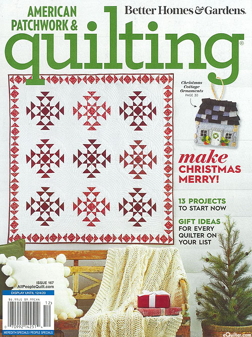 American Patchwork & Quilting Magazine - December, 2020