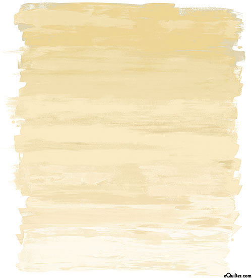 "Huge Ombre Brushstrokes - Natural - 40"" x 44"" DIGITAL PANEL"