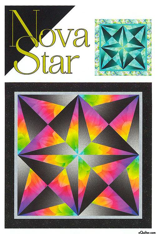 Nova Star - Quilt Pattern by Cindi McCracken Designs
