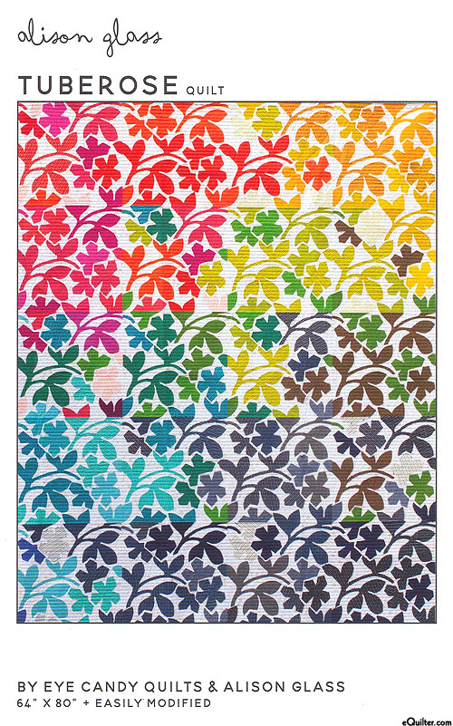 Tuberose - Applique Pattern by Eye Candy Quilts & Allison Glass