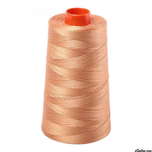 Brown - AURIFIL Cotton Thread CONE - Solid 50 Wt - Lt Toast