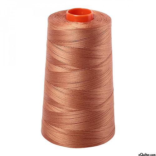 Brown - AURIFIL Cotton Thread CONE - Solid 50 Wt - Lt Chestnut