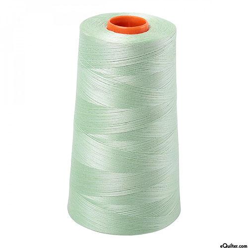 Green - AURIFIL Cotton Thread CONE - Solid 50 Wt - Pale Green