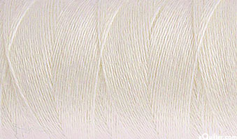 AURIFIL WOOL/Acrylic Thread - Solid 12 Wt - Ivory