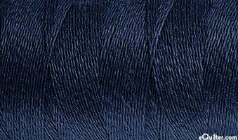 AURIFIL WOOL/Acrylic Thread - Solid 12 Wt - Indigo