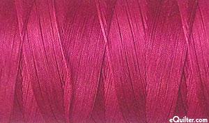 Pink - AURIFIL Cotton Thread - Solid 50 Wt - Red Plum