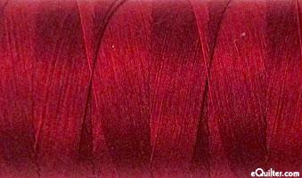 Burgundy - AURIFIL Cotton Thread - Solid 50 Wt - Burgundy
