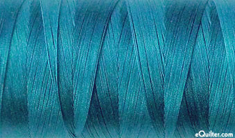 Turquoise - AURIFIL Cotton Thread - Solid 50 Wt - Teal Blue