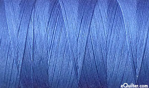 Blue - AURIFIL Cotton Thread - Solid 50 Wt - Lt Iris Blue