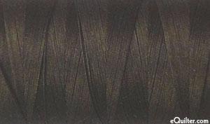 Brown - AURIFIL Cotton Thread - Solid 50 Wt - Very Dk Bark
