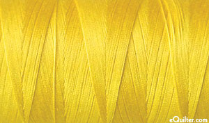 Yellow - AURIFIL Cotton Thread - Solid 50 Wt - Sun Yellow