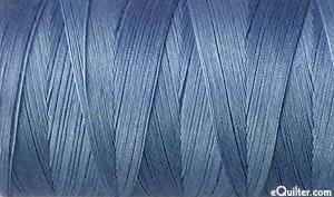 Blue - AURIFIL Cotton Thread - Solid 50 Wt - Storm Cloud Blue