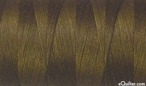 Brown - AURIFIL Cotton Thread - Solid 50 Wt - Medium Bark