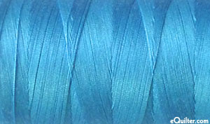 Blue - AURIFIL Cotton Thread - Solid 50 Wt - Bright Sky