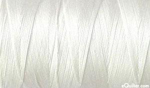 Cream - AURIFIL Cotton Thread - Solid 50 Wt - Natural White