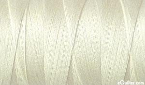 Cream - AURIFIL Cotton Thread - Solid 50 Wt - Chalk
