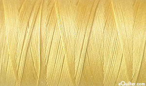 Yellow - AURIFIL Cotton Thread - Solid 50 Wt - Champagne