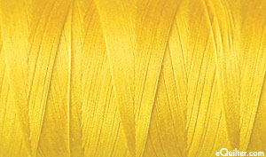 Yellow - AURIFIL Cotton Thread - Solid 50 Wt - Canary Yellow