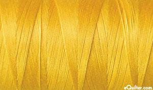 Yellow - AURIFIL Cotton Thread - Solid 50 Wt - Sunflower Yellow