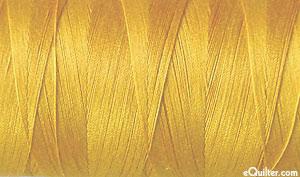 Gold - AURIFIL Cotton Thread - Solid 50 Wt - Orange Mustard
