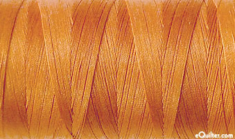 Gold - AURIFIL Cotton Thread - Solid 50 Wt - Caramel