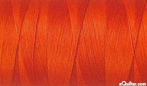 Red - AURIFIL Cotton Thread - Solid 50 Wt - Red Orange