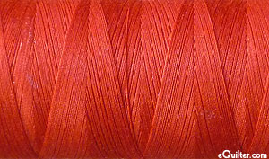 Red - AURIFIL Cotton Thread - Solid 50 Wt - Dk Red Orange