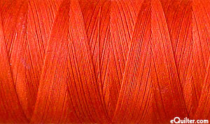 Red - AURIFIL Cotton Thread - Solid 50 Wt - Tomato