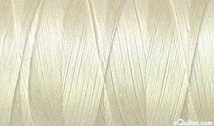 Cream - AURIFIL Cotton Thread - Solid 50 Wt - Shimmer