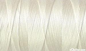 Cream - AURIFIL Cotton Thread - Solid 50 Wt - Eggshell
