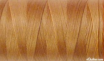 Brown - AURIFIL Cotton Thread - Solid 50 Wt - Lt Toast