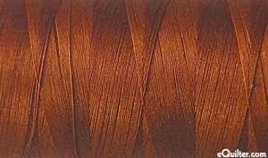 Brown - AURIFIL Cotton Thread - Solid 50 Wt - Rum Raisin